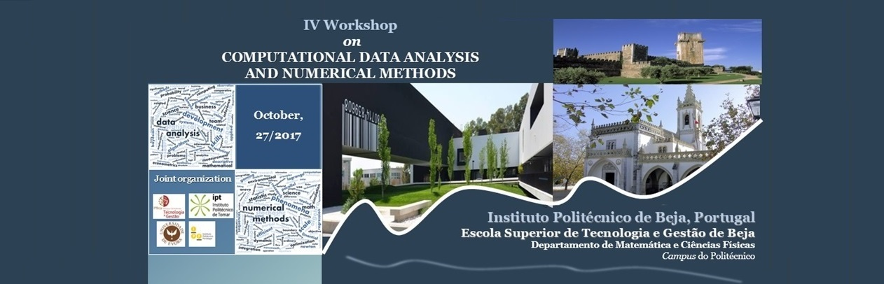 IV Workshop on Computational Data Analysis and Numerical Methods